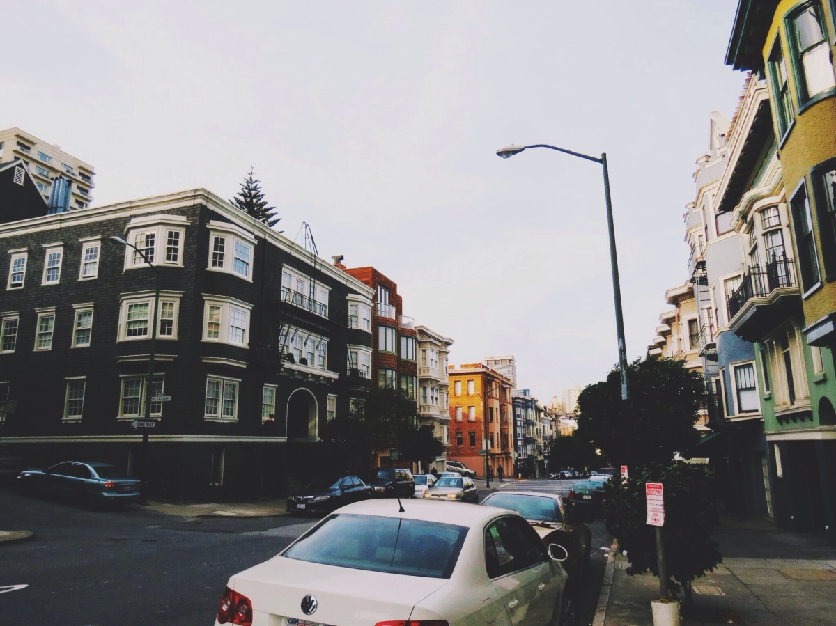 Love for the city streets - SF, CA