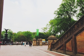 Towards Bethesda Fountain