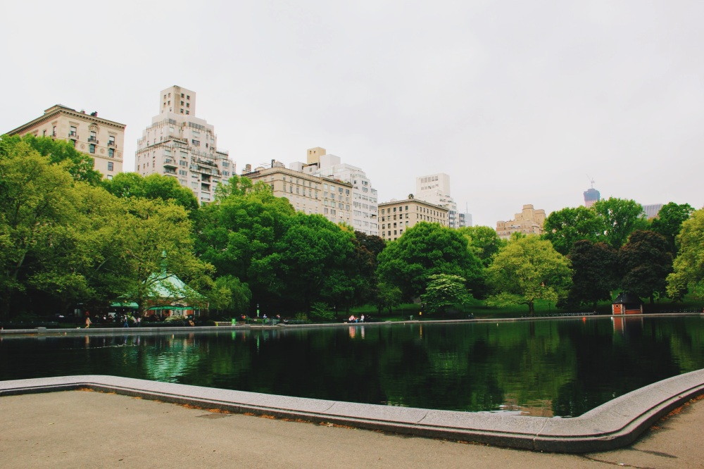 Conservatory Water View In Central Park