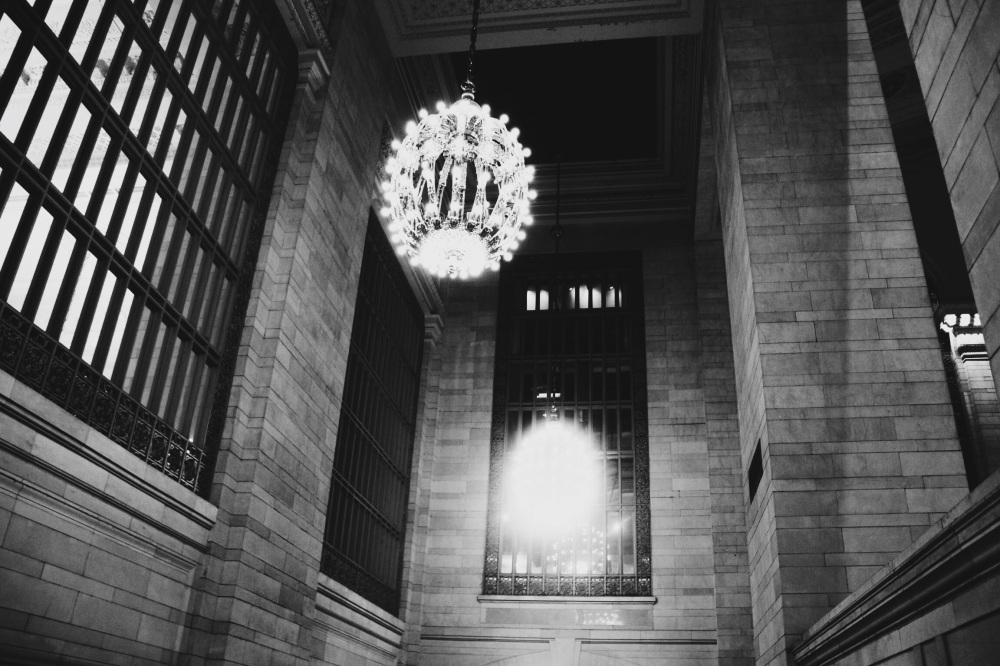 Black and White in the Gold of Grand Central