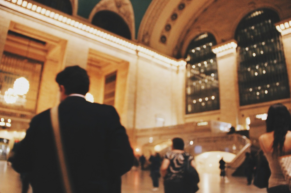 The Passerbys in Grand Central