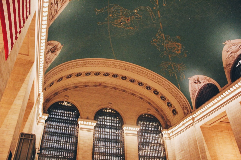 Look up in Grand Central