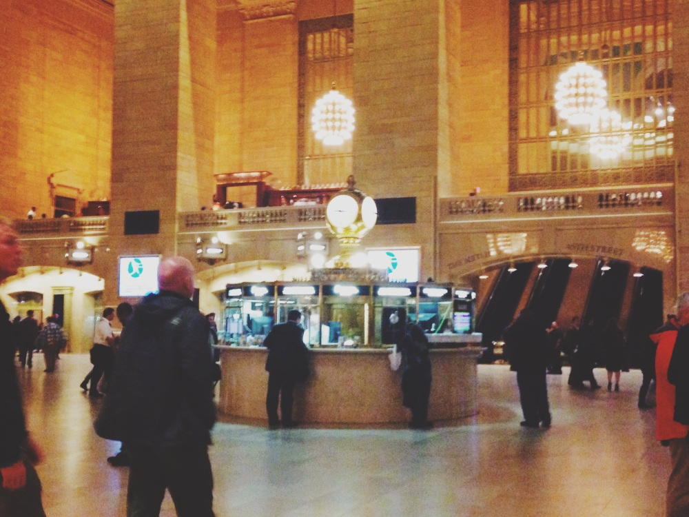 Lets Go- Grand Central