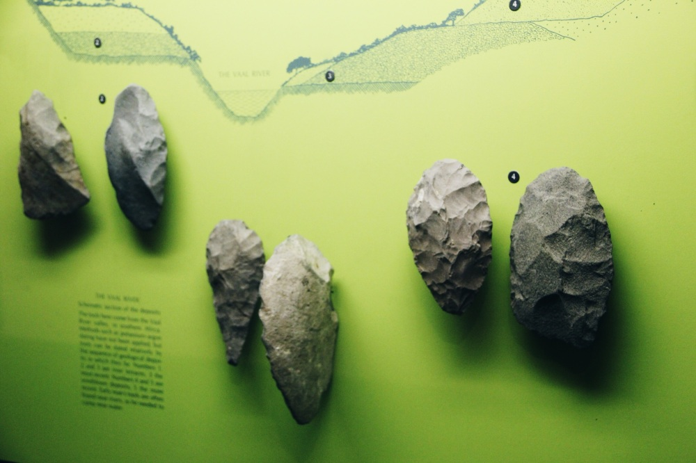 Arrow Heads displays in the Natural History Museum
