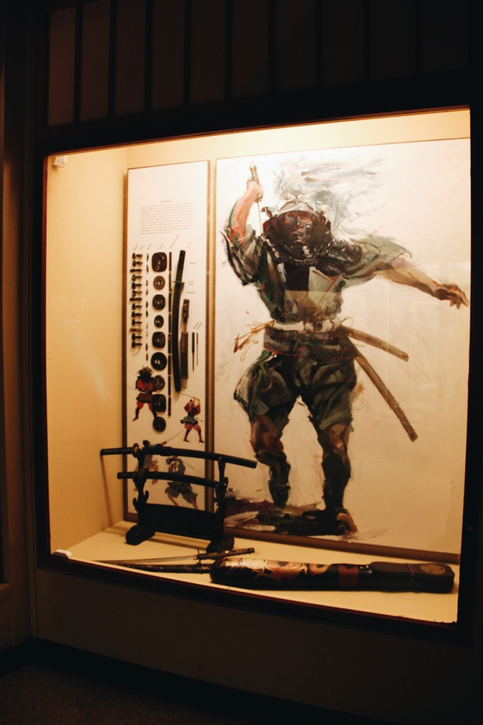 Samurai Display in the Natural History Museum
