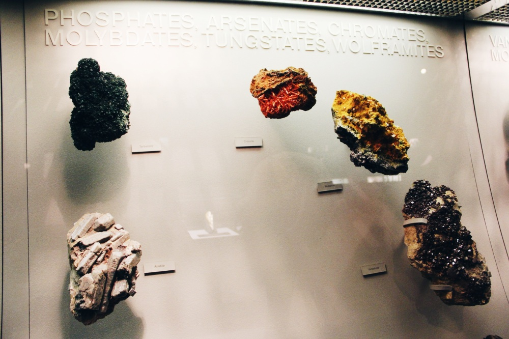 Wolframite and others
