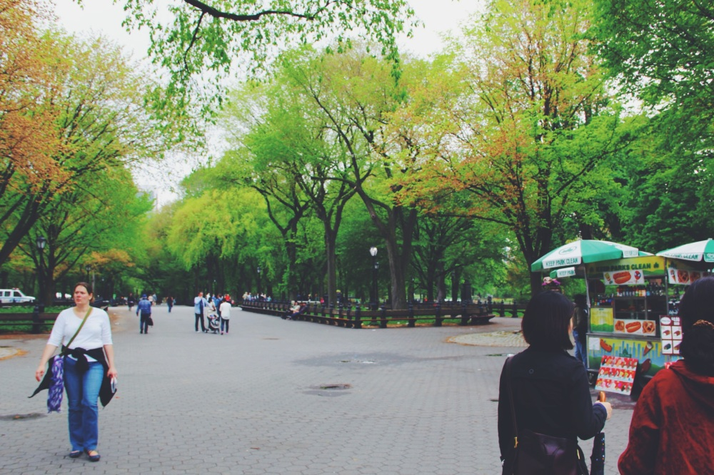 Central park outtakes
