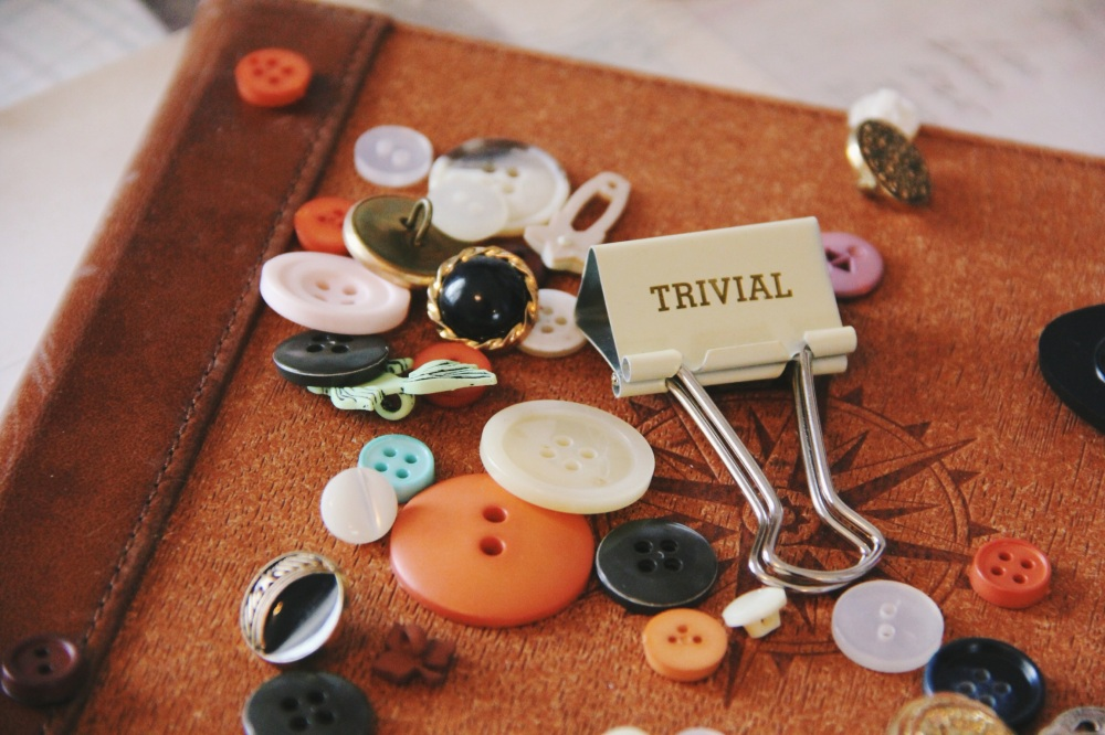 trivial buttons