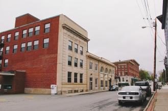 Side streets in Belfast Maine