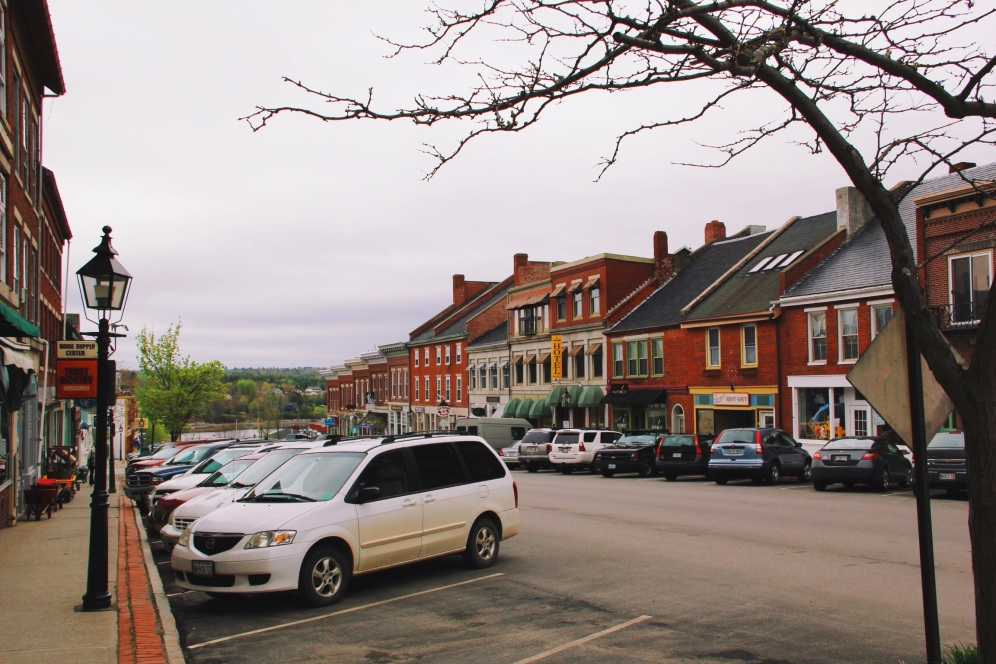 little shops, Belfast Maine