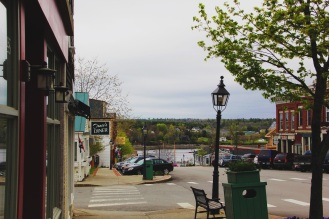 Look out at the bay, Belfast Maine