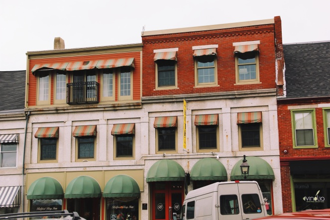 Little windows, Belfast Maine