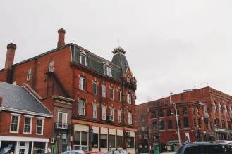 The Architecture here, Belfast Maine