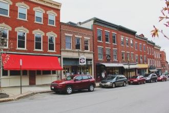 little shops in Belfast Maine