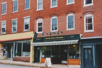 old fashioned charm in Belfast Maine