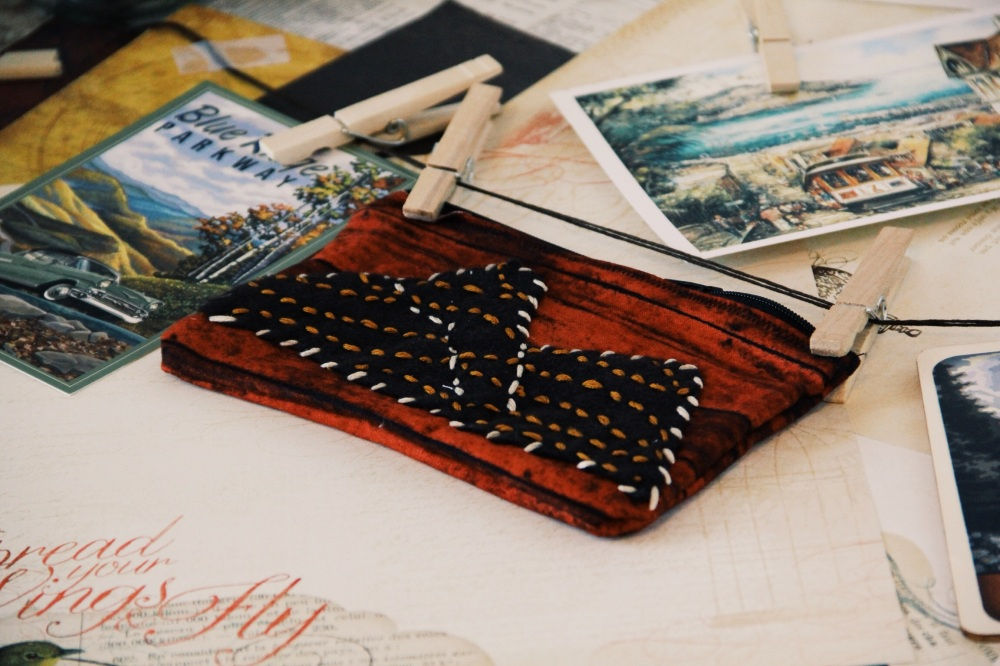 mountains pencil case photography, etsy, fables and coffee