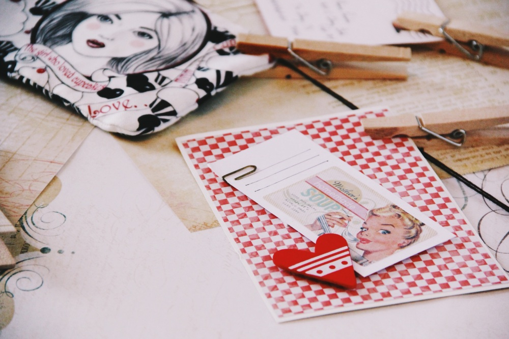 Cupcake Girl Pencil Case and Note things