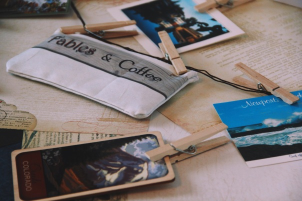 FablesandCoffee and Travel Postcards