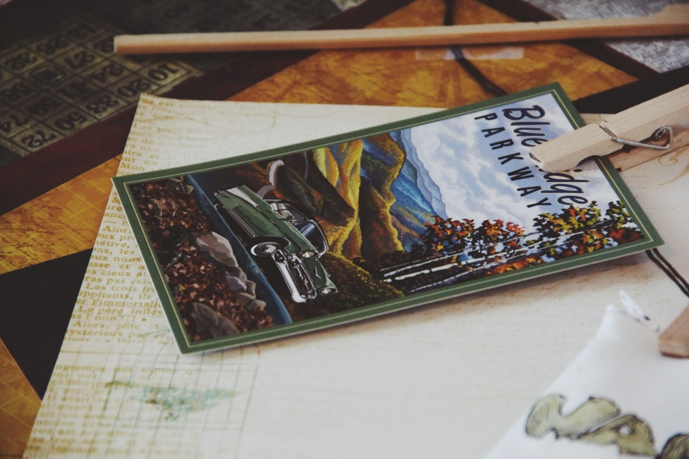 Vintage Travel Postcards, USA
