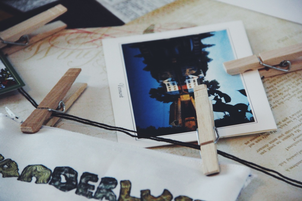 Vermont, Travel Postcard, Wanderlust in Series