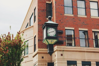 little details, clock in Augusta Maine
