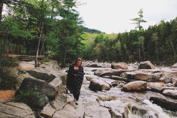 Exploring with Kat in New Hampshires rivers