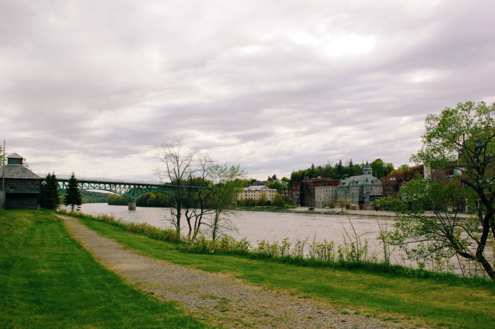Augusta Maine Landscape Riverfront photography