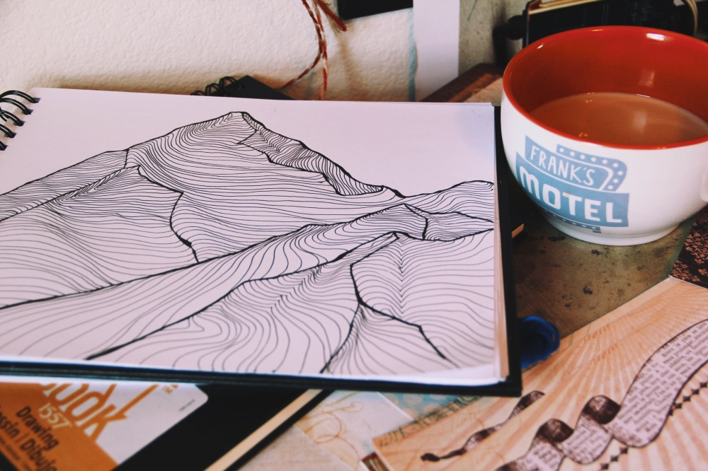 Mountain Drawing, Lets get Topographic