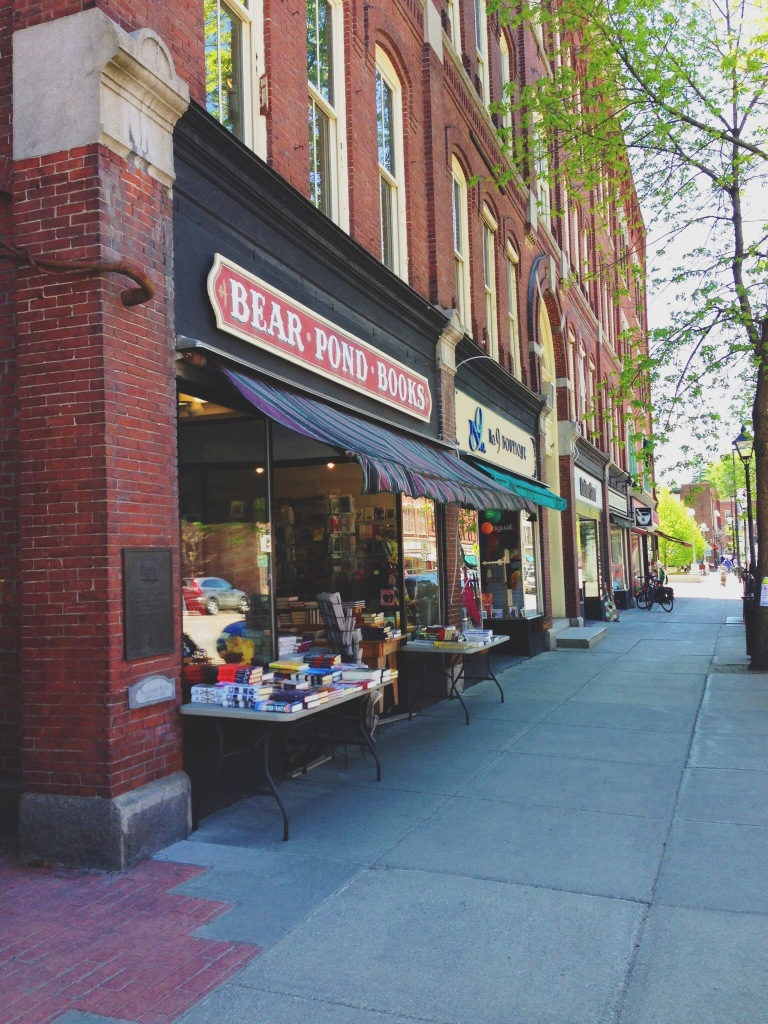 Book stores in Montpelier, VT
