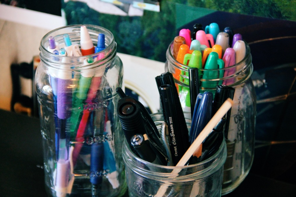 Sharpies, Pens, and more Pens