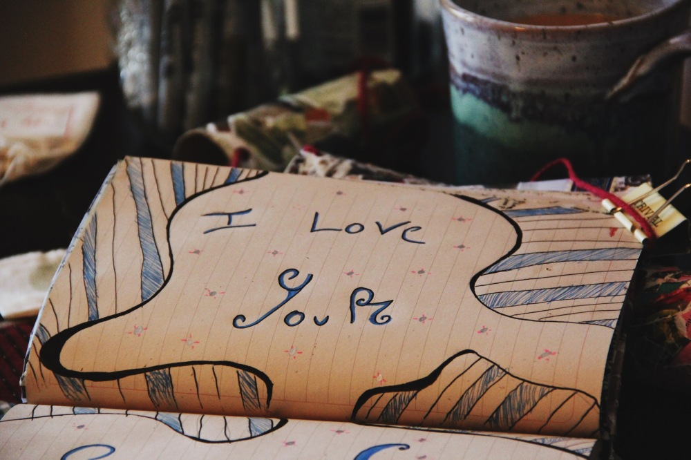 I love... art journal page