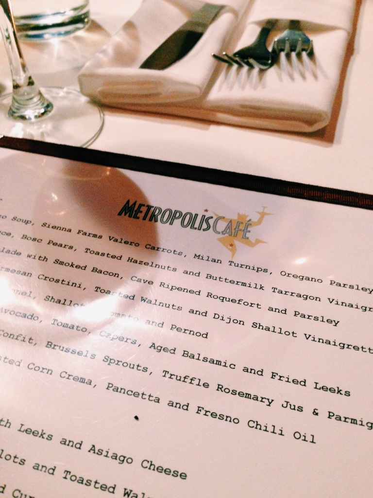 Metropolis Cafe, Boston MA