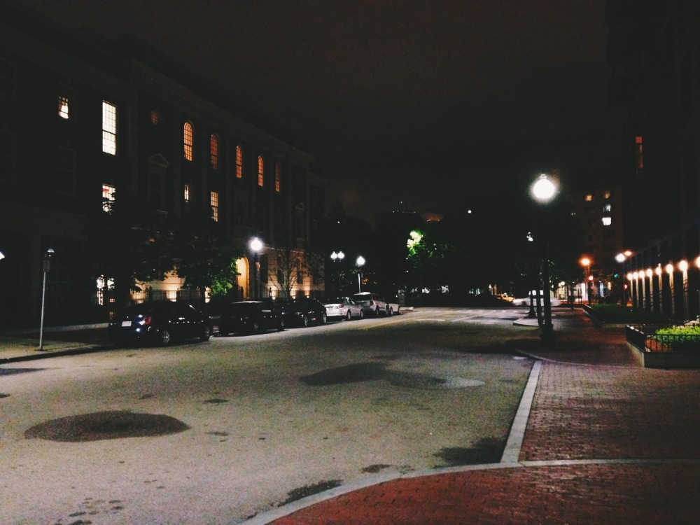 Empty streets, still alive- Boston, MA