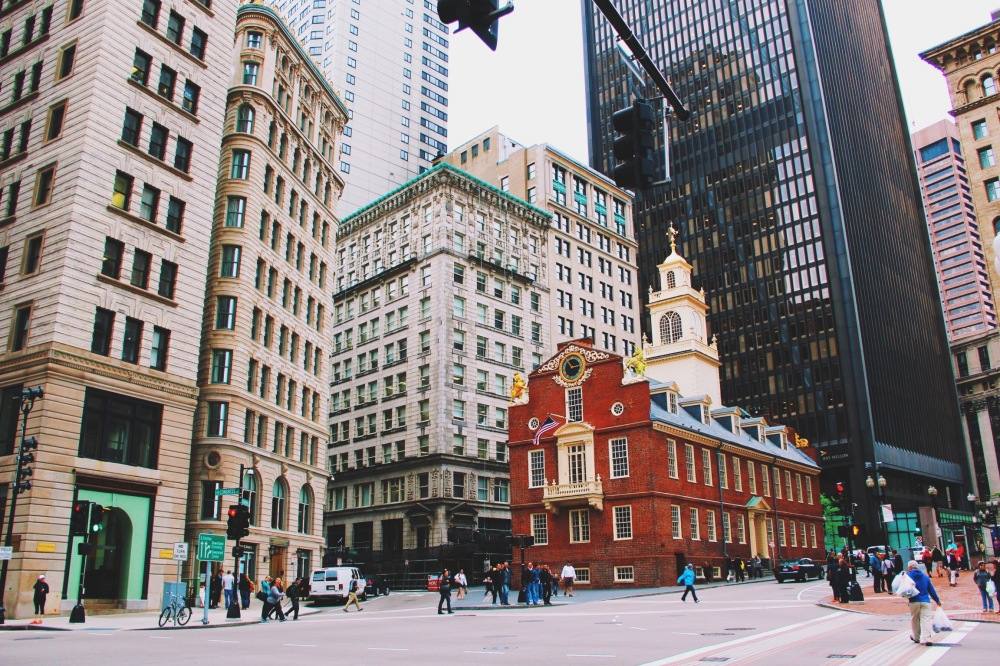 Lovely architecture in Boston, MA