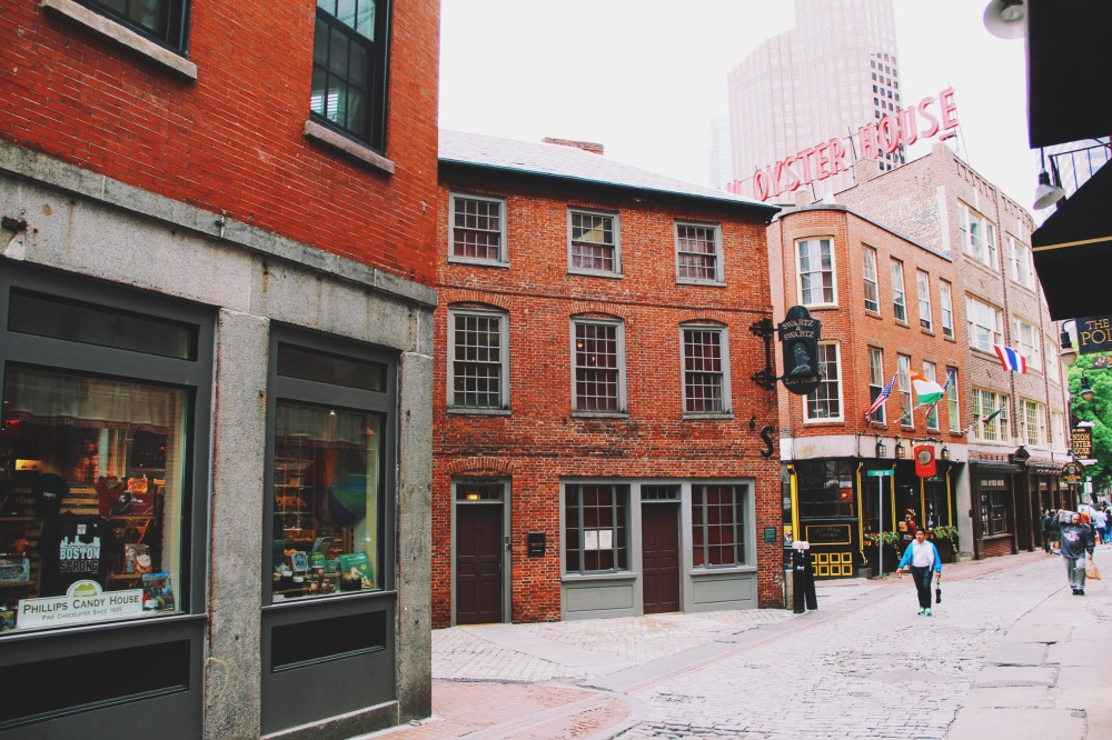 These old streets, Boston