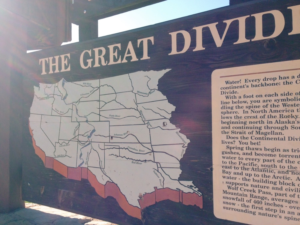 The Great Divide!