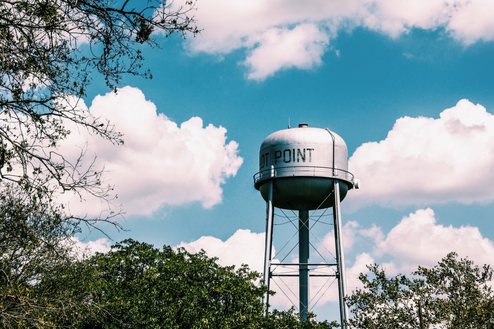 pilot point water tower, photography