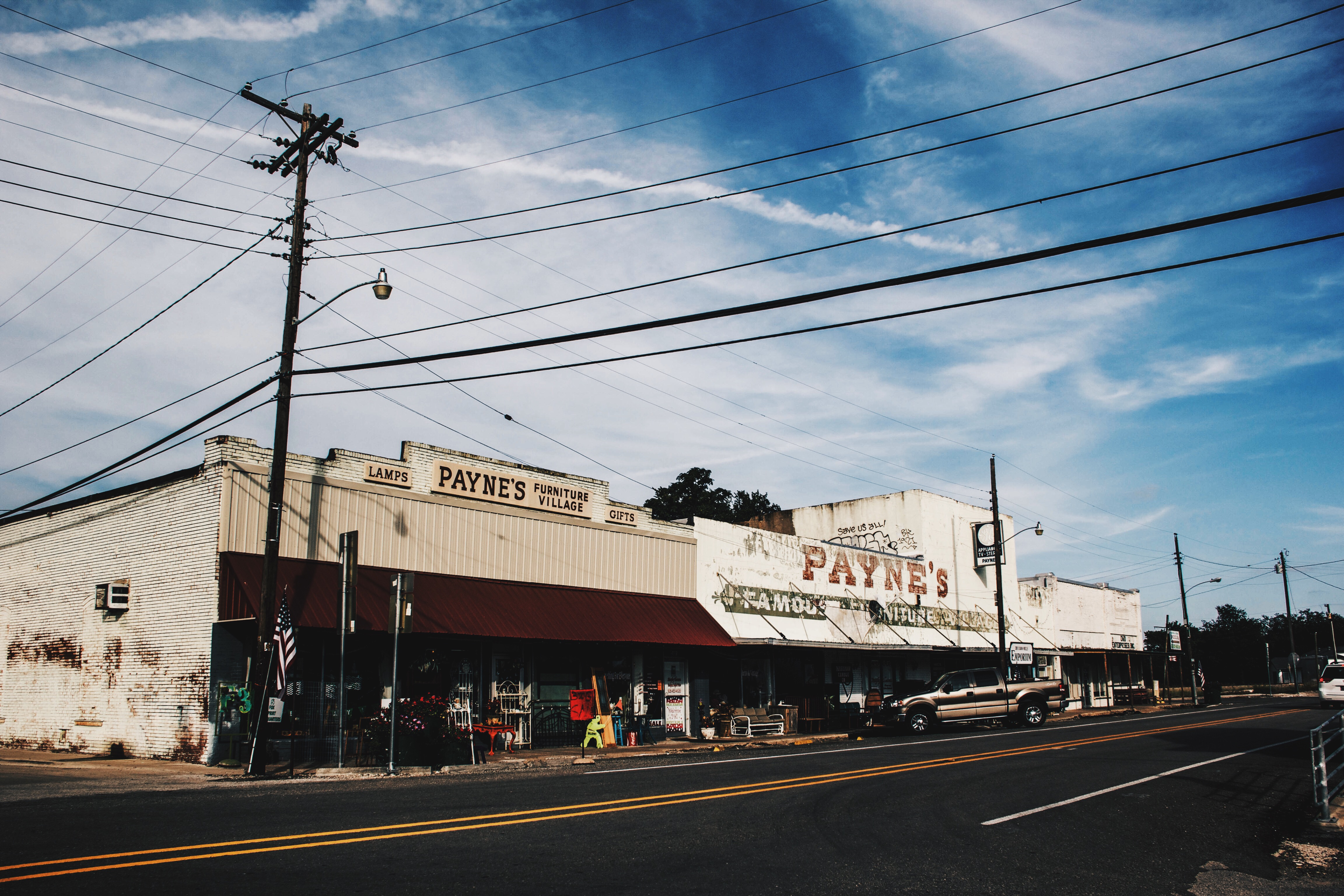Car Town Caddo Mills >> A Flag on Every Street- Caddo Mills, Texas | Sleepy Coffee and Fables