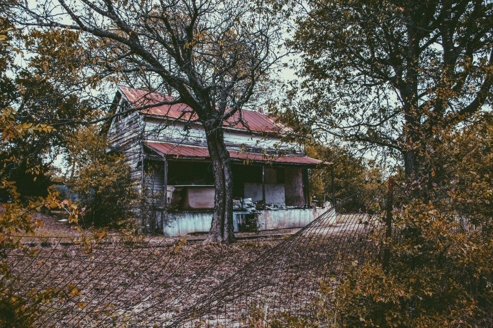 Abandoned, outskirts right by Canon