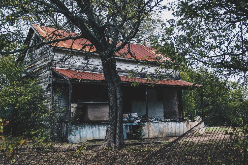 Abandoned house, Canon Texas