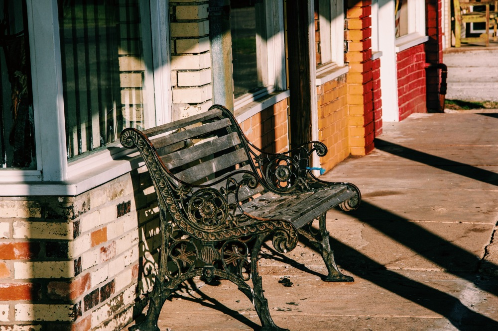 Benches in Tioga
