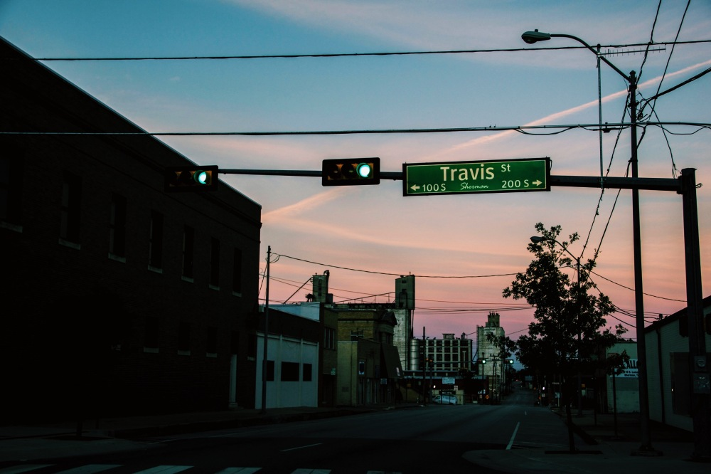 Travis St, Sherman Texas