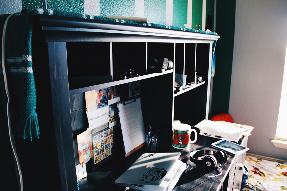 the work area