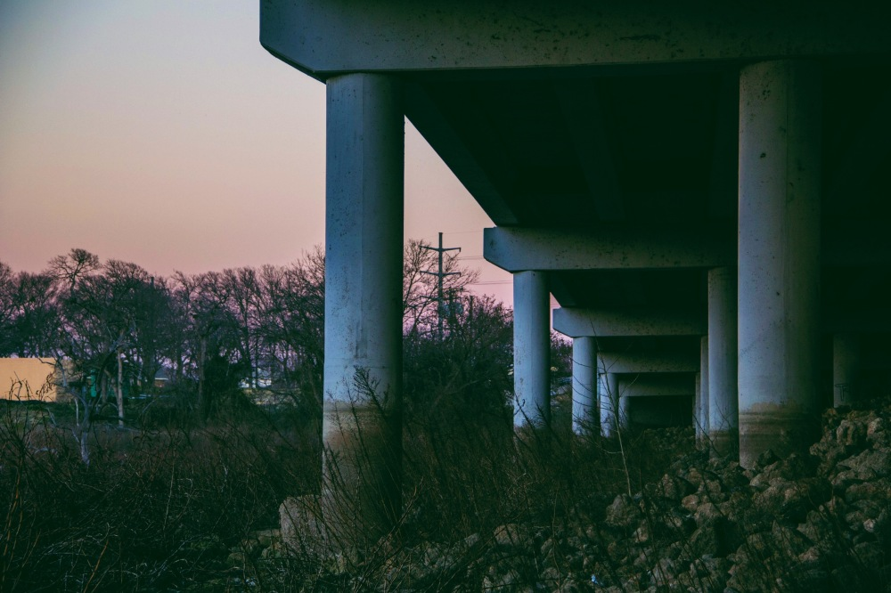 Under the Overpass, Rowlett TX