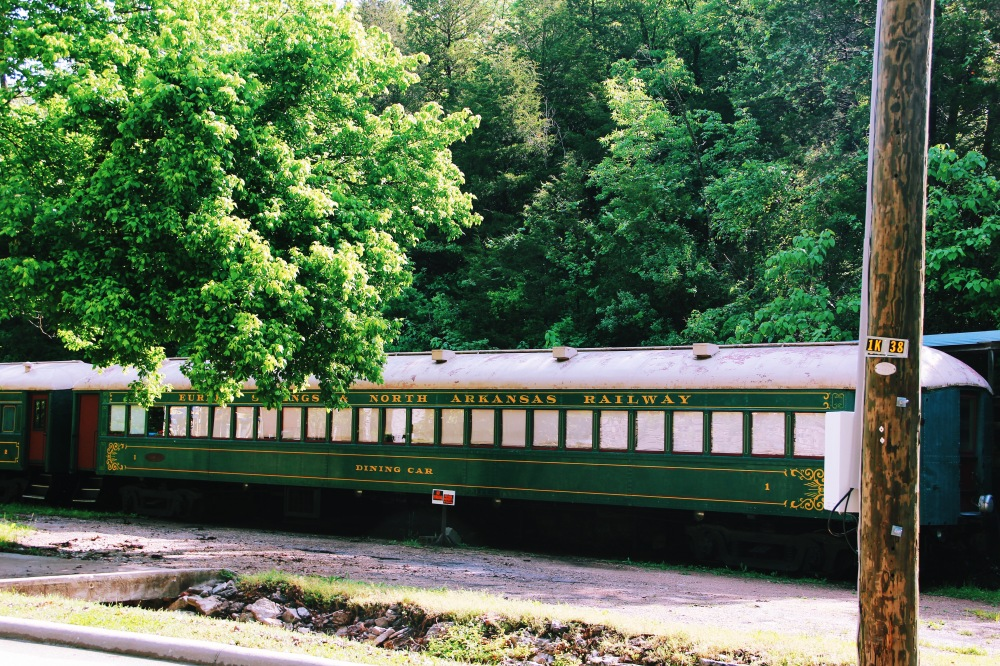 Eureka Springs, trains and summer