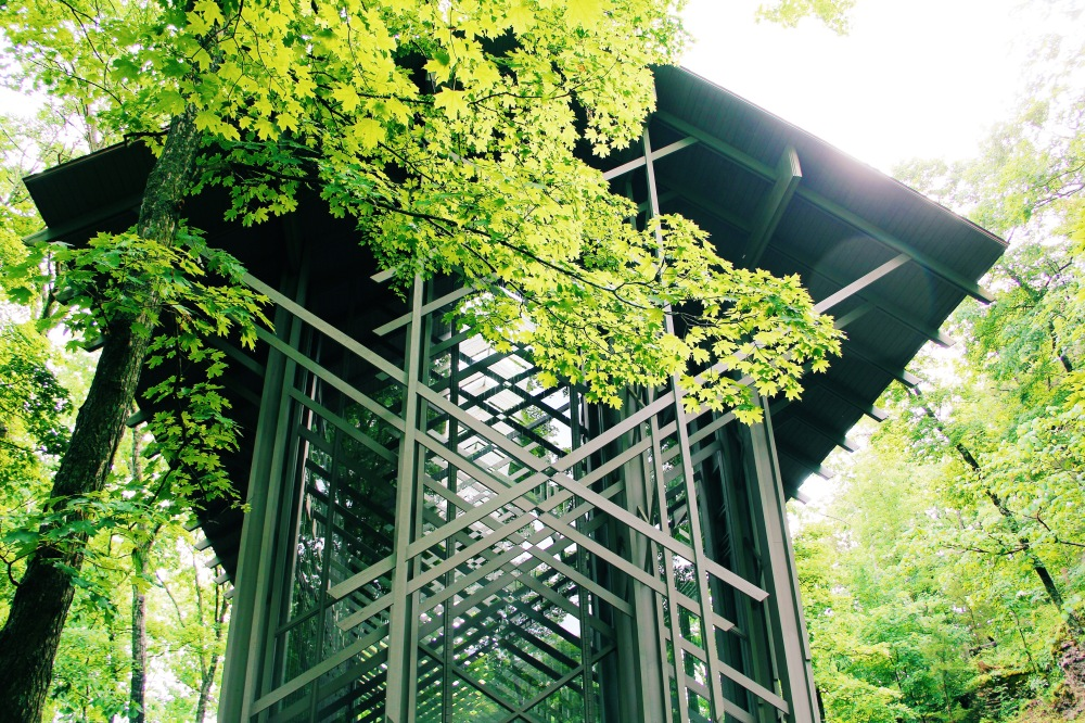 Thorncrown Chapel, Eureka Springs AR