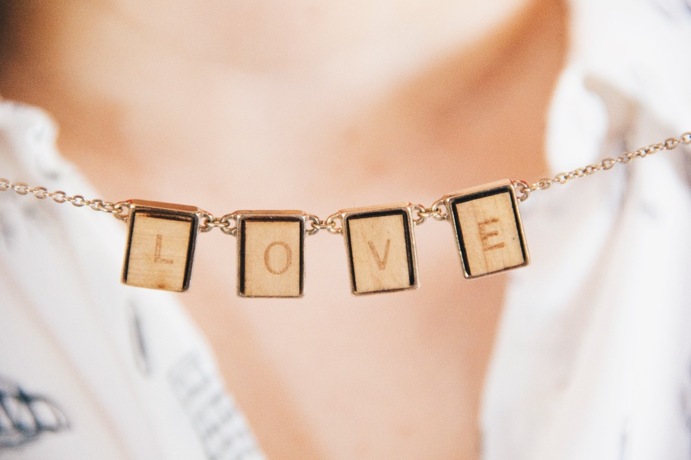 The love, necklace
