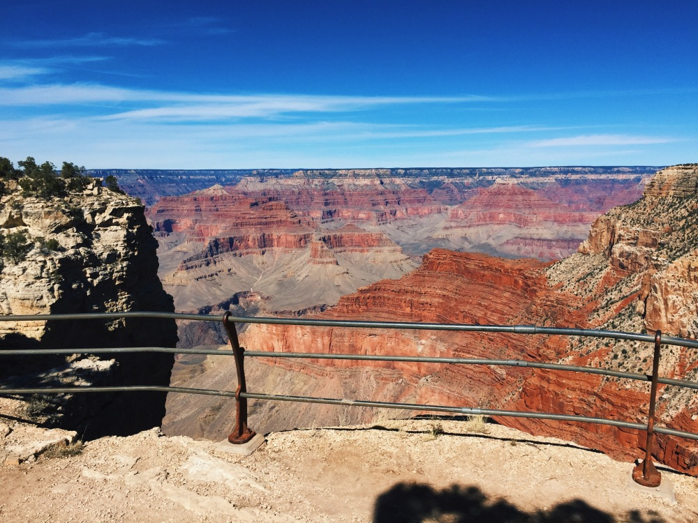 the Grand Canyon, March weather
