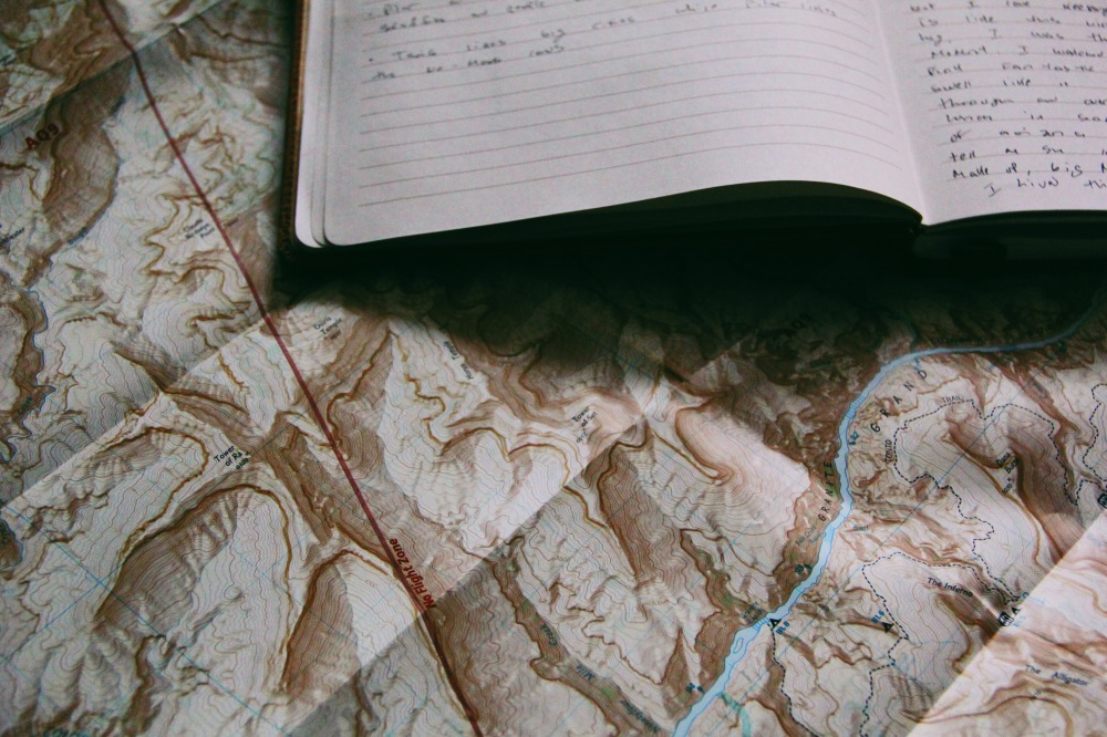 maps and art journals