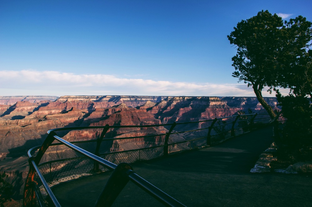 Empty at sunrise, grand canyon